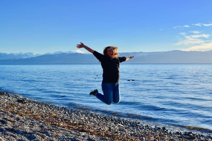 Freude spüren. Mir selbst auf die Schulter klopfen. Mir selbst Wertschätzung zeigen.
